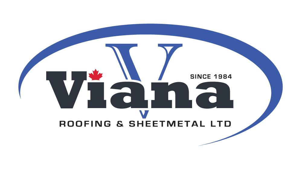 Viana Roofing & Sheetmetal logo