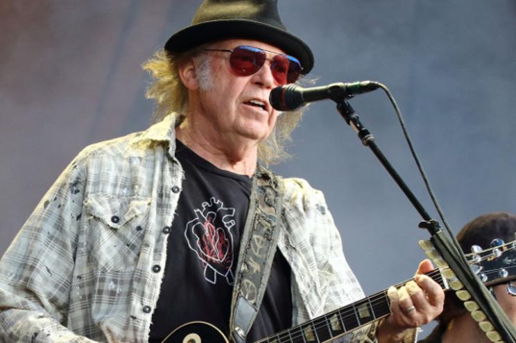 Neil Young - Camões Rádio - EUA