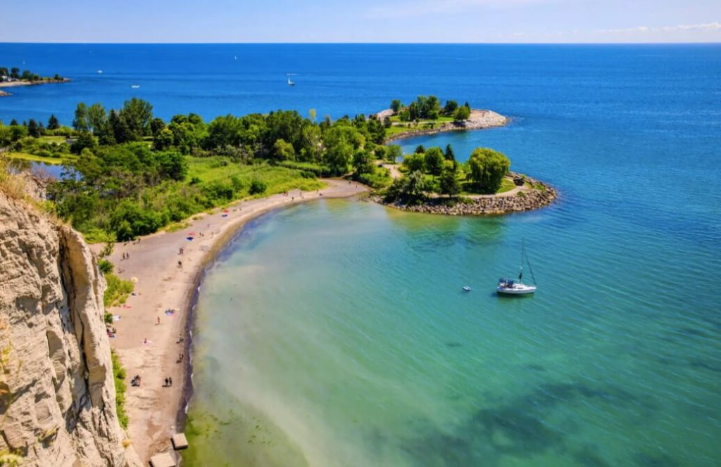 Scarborough Bluffs - Camões Rádio - Toronto