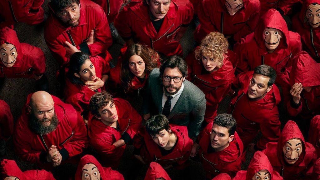 money heist - Camões Rádio - Netflix