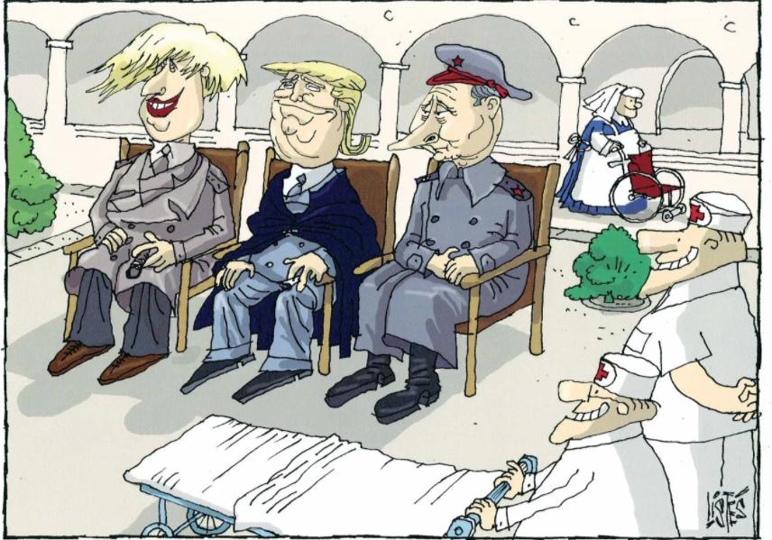 Cartoon - Camões Rádio - Mundo