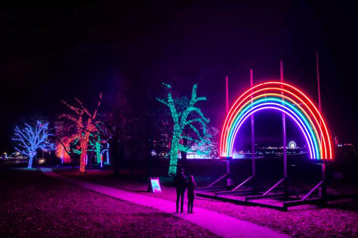 Winter Festival of Lights - Camões Rádio - Niagara Falls