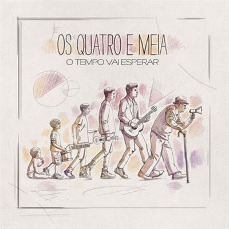 """""""O Tempo Vai Esperar"""", Os Quatro e Meia - Camões Rádio - Portugal"""