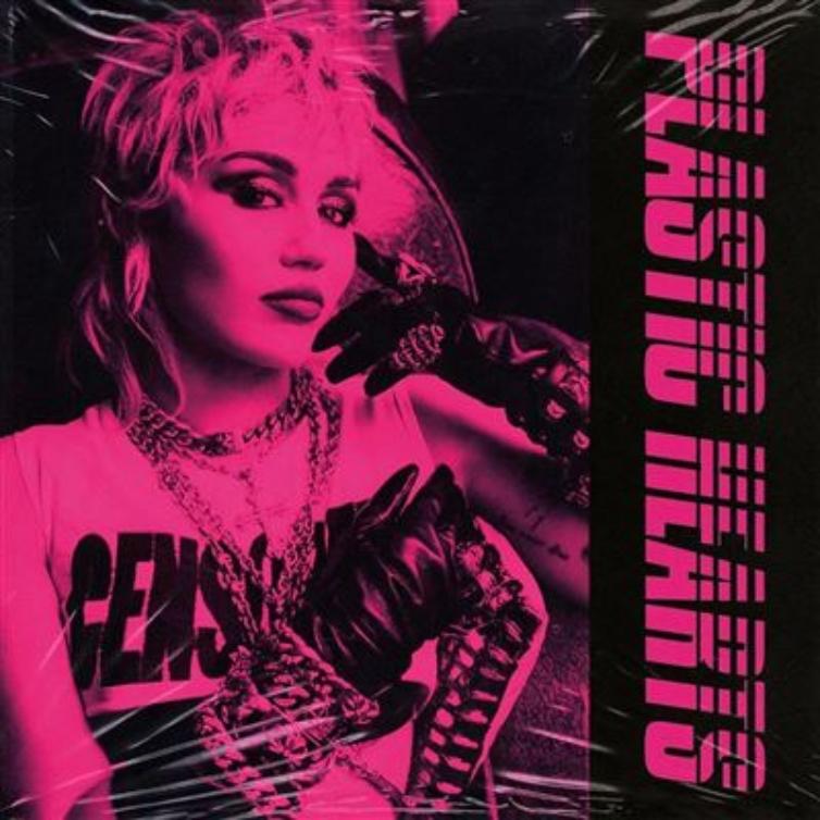 """""""Plastic Hearts"""", Miley Cyrus - Camões Rádio - Mundo"""