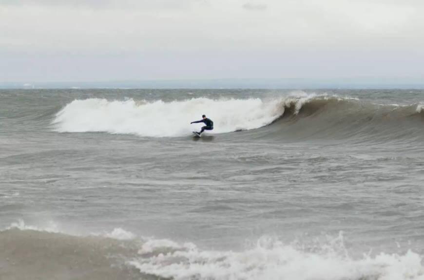 surf no Lago Ontário - Camões Rádio - Toronto