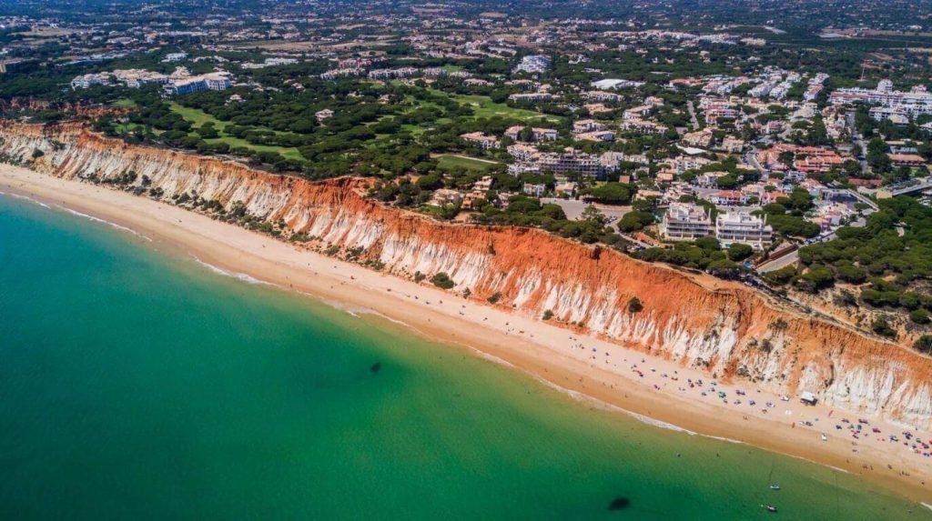 Praia-da-Falesia - camões Rádio, Algarve, Portugal