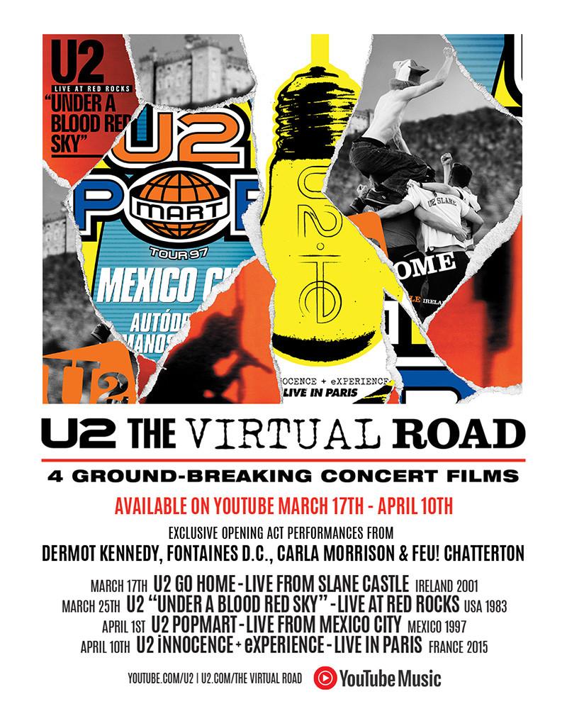 U2 The Virtual Tour - Camões Rádio - mundo
