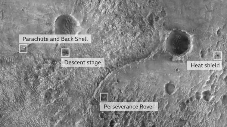 Zona de aterragem - Camões Rádio - Planeta Marte