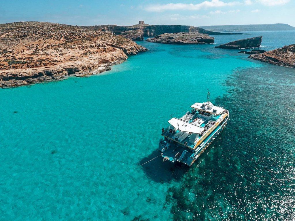 Malta Blue Lagoon - Camões rádio - Malta