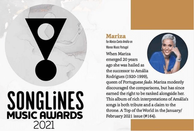 Songlines Music Awards - camões rádio - mundo