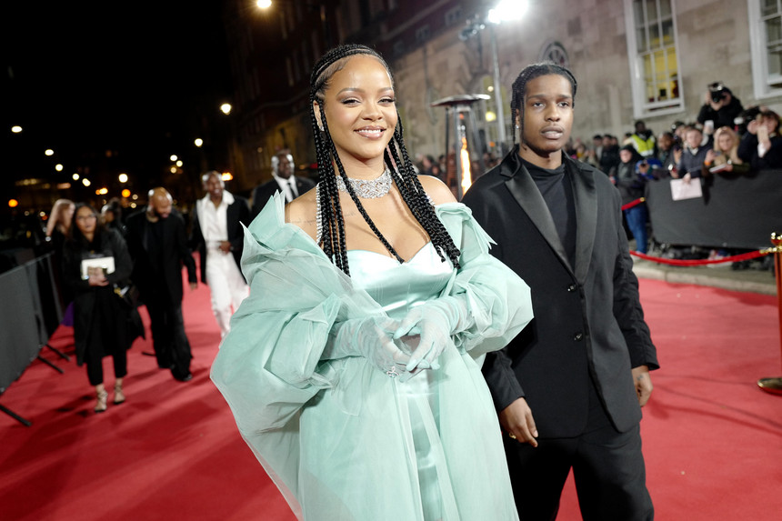 A$AP Rocky namora com Rihanna - Camões Rádio - Celebridad