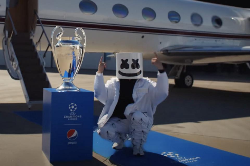 DJ Marshmello na Liga dos Campeões - camões rádio -- portugal