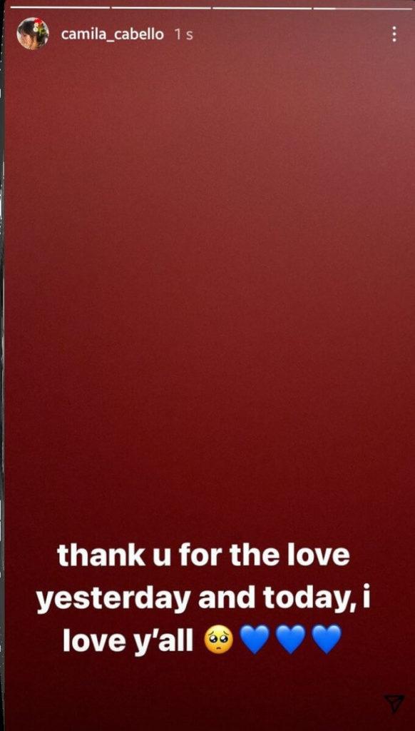 Camila Cabello agradece aos fãs - Camões Rádio - Noticias