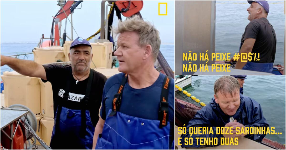 Gordon Ramsay procura sardinhas - camões rádio - Portugal