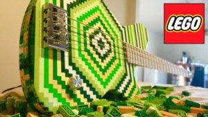 Músico constrói baixo com legos - Camões Rádio - Música