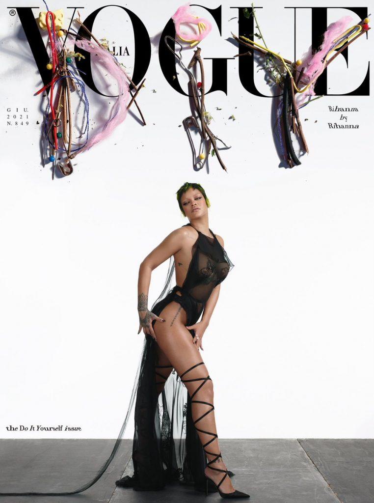 Vogue Itália Rihanna - Camões Rádio - Mundo