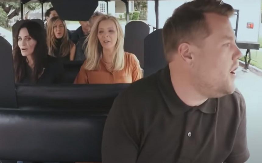 friends em Carpool Karaoke - Camões Rádio - música