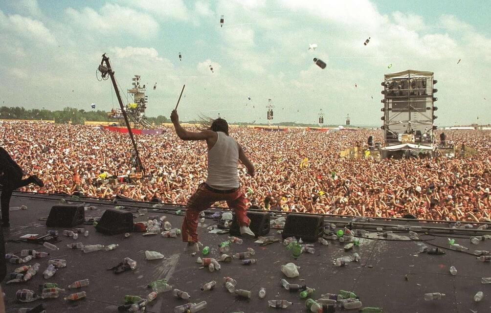 Kid Rock - Camões Rádio - Woodstock festival 1999