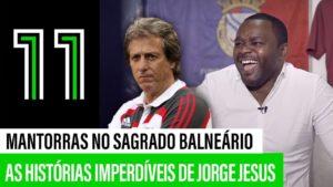 Mantorras e Jorge Jesus Benfica - Camões Rádio - Desporto Portugal