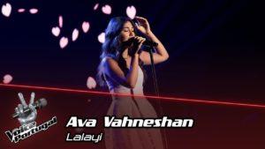 Ava Vahneshan the voice portugal - Camões Rádio - Música
