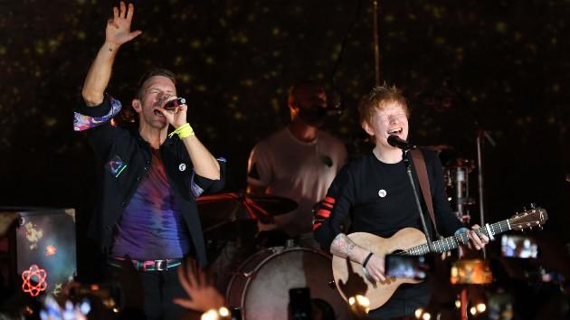 Ed Sheeran juntou-se aos ColdPlay - Camões Rádio - Música