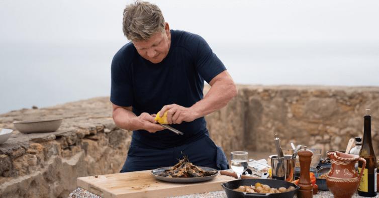Gordon Ramsay em Portugal - Camões Rádio - Culinária Portugal
