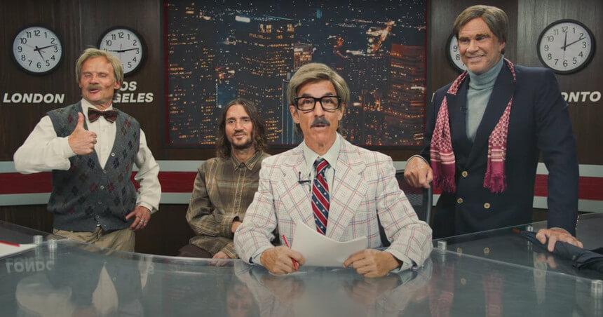 Red Hot Chili Peppers anunciam digressão - Camões Rádio - Música